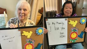 Washington nursing home residents lift spirits amid COVID-19 lockdown with notes to families