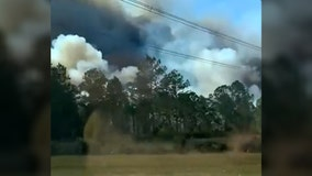 I-4 reopens after brush fire shut down stretch of highway in Volusia County