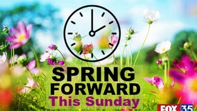 Daylight Saving Time: Don't forget to Spring forward this Sunday