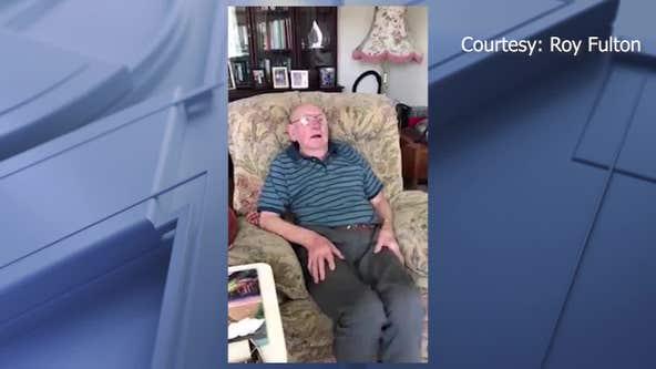 Man shows seniors around the world how to stay active during coronavirus pandemic