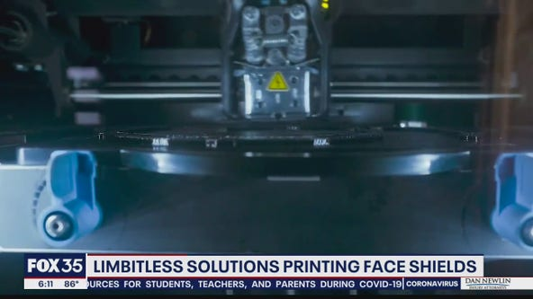 Limbitless Solutions shifting focus from prosthetics to face shields