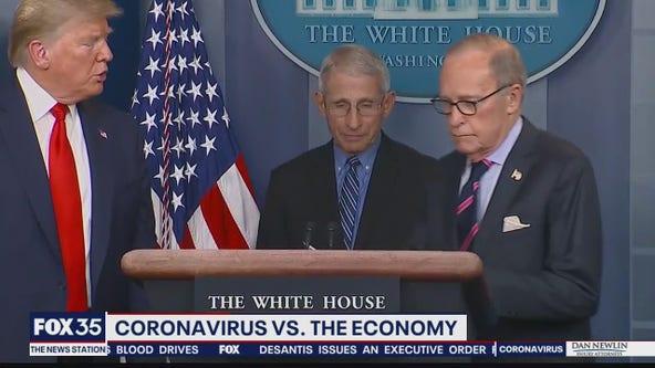 Coronavirus taking hit on economy