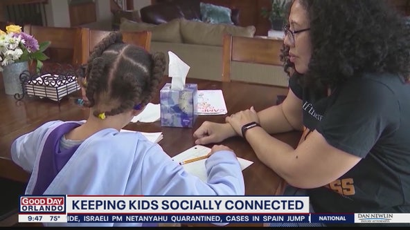 Keeping kids socially connected