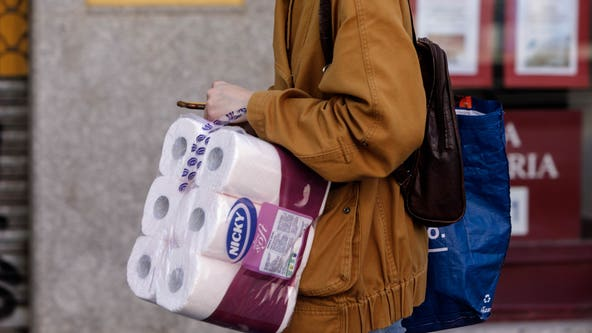 Website allows you to track down what stores have products, including toilet paper, in stock