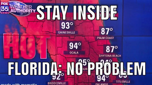 Record heat dominates as temperatures soar into the 90s in Central Florida