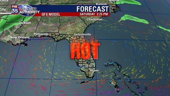 Hot and dry in Central Florida, when will it rain?