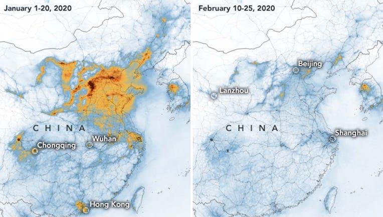 NASA china images