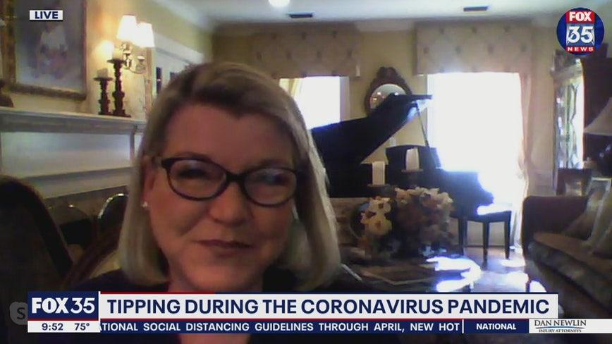 Tipping during the coronavirus pandemic
