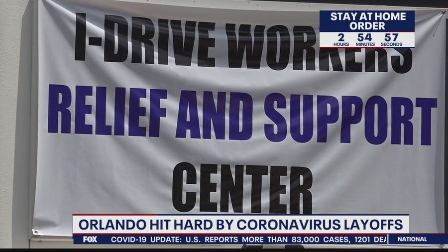 Orlando hit hard by coronavirus layoffs