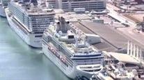 Healthy cruise ship passengers to head home