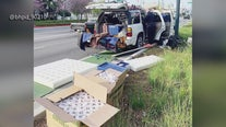 Officers discover nearly 200 rolls of toilet paper inside stolen SUV: Beverly Hills PD