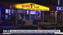Small business owners worried about surviving the outbreak