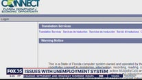 Issues with unemployment system