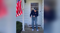 'Dancing Chuck', 97-year-old WWII veteran, busts a move to Justin Timberlake while in quarantine