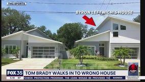 Tom Brady walks into stranger's home