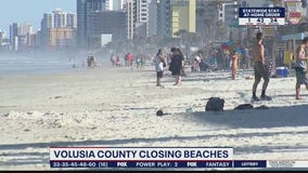 No more beach days in Volusia County during stay-at-home order