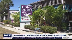 Community helping popular hot dog stand