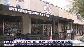 Pizza dinners gifted to jobless in acts of kindness