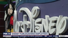 Disney furloughing employees