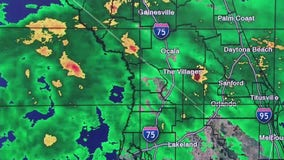 Scattered showers bring rain into Central Florida, but sunshine and dry air will return