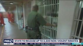 California to release up to 3,500 inmates over coronavirus