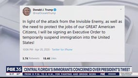 Trump's tweet to suspend immigration creates concern for Florida's immigrant population