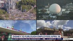 Disney to furlough employees beginning April 19
