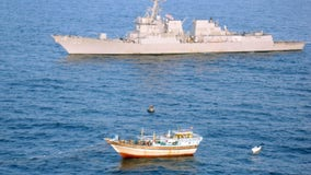 Another Navy warship at sea reports a coronavirus outbreak