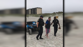 Pa. fugitive, homicide suspect arrested on newly-reopened Florida beach