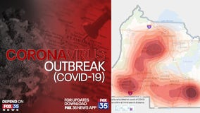 Seminole County releases heat map of COVID-19 cases