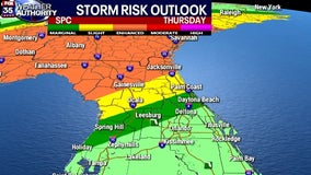 FOX 35 Weather Alert Day: Strong to severe storms headed for Central Florida