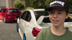 Apopka teen gets surprise exotic car parade outside home for 15th birthday