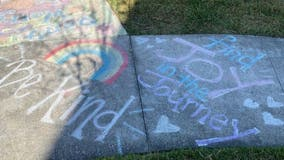 "Lake Nona neighborhood does ""Chalk your Walk"" challenge, spreading positive drawings & messages"