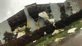 Tornadoes strike multiple states as severe weather outbreak unfolds on Easter in South