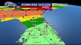 Central Florida rain chances rising again, strong storms possible this weekend