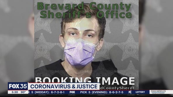 Man charged with a misdemeanor in Brevard County denied bail, suspected of having COVID-19