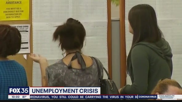 Unemployment crisis due to backlogs