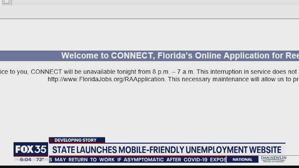 State launches mobile-friendly unemployment website