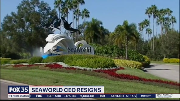 SeaWorld CEO resigns