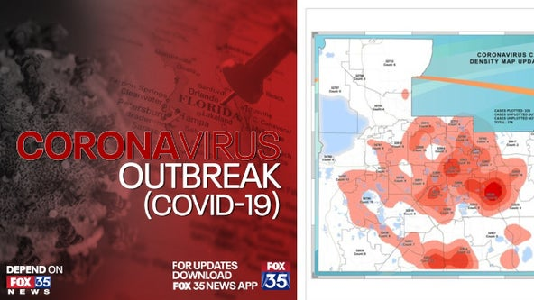Orange County releases heat map of COVID-19 cases