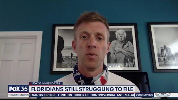 Flordians still struggling to file for unemployment