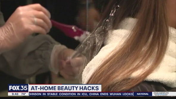 At-home beauty hacks
