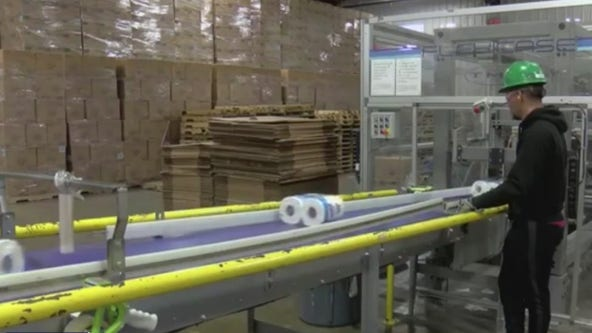 FOX 35 visits toilet paper production facility that is hiring