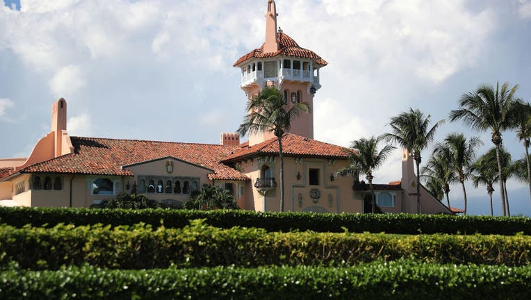 President Donald Trump's Mar-a-Lago resort is seen on November 1, 2019 in Palm Beach, Florida.