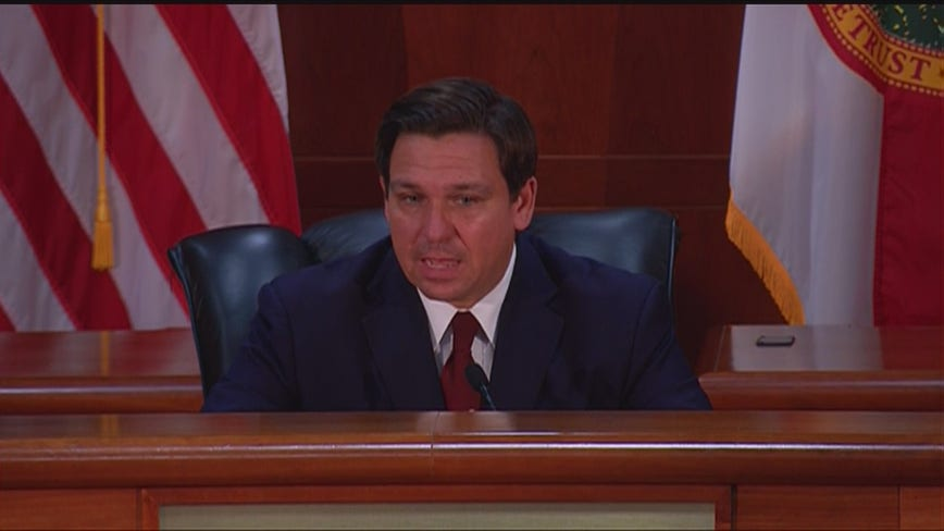 Governor DeSantis says Florida's unemployment system is now up to speed