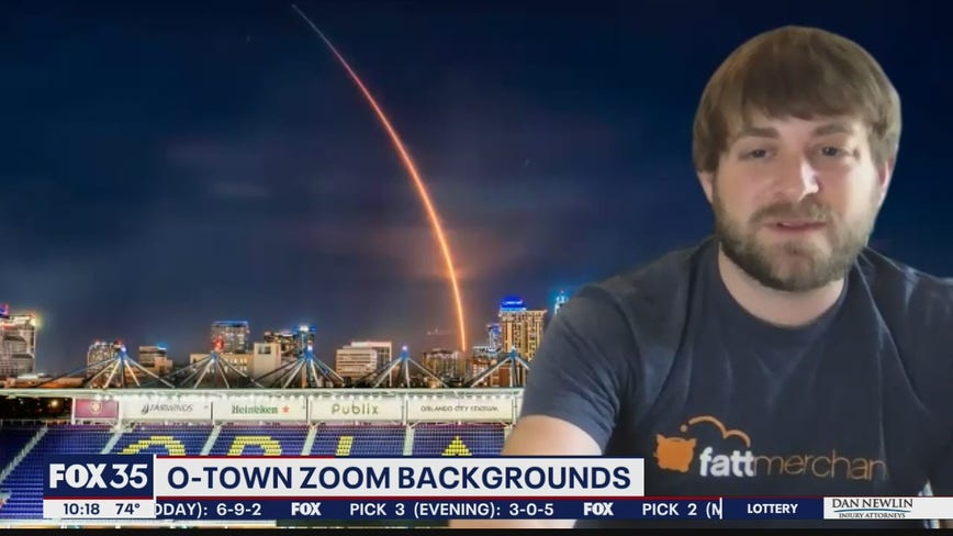 Zoom backgrounds feature Orlando