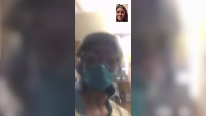'Mom, it's OK for you to go': Nurse helps woman say goodbye to her dying mother via FaceTime