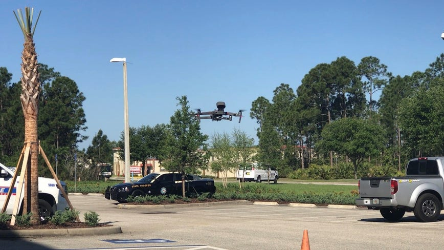 Daytona Beach police deploy 'talking drones' to limit community interaction