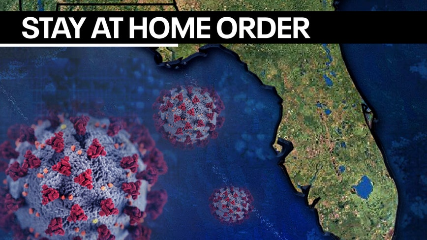 Governor DeSantis issues 'stay at home' order for all of Florida