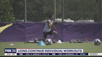 Lions & Pride continue individual workouts